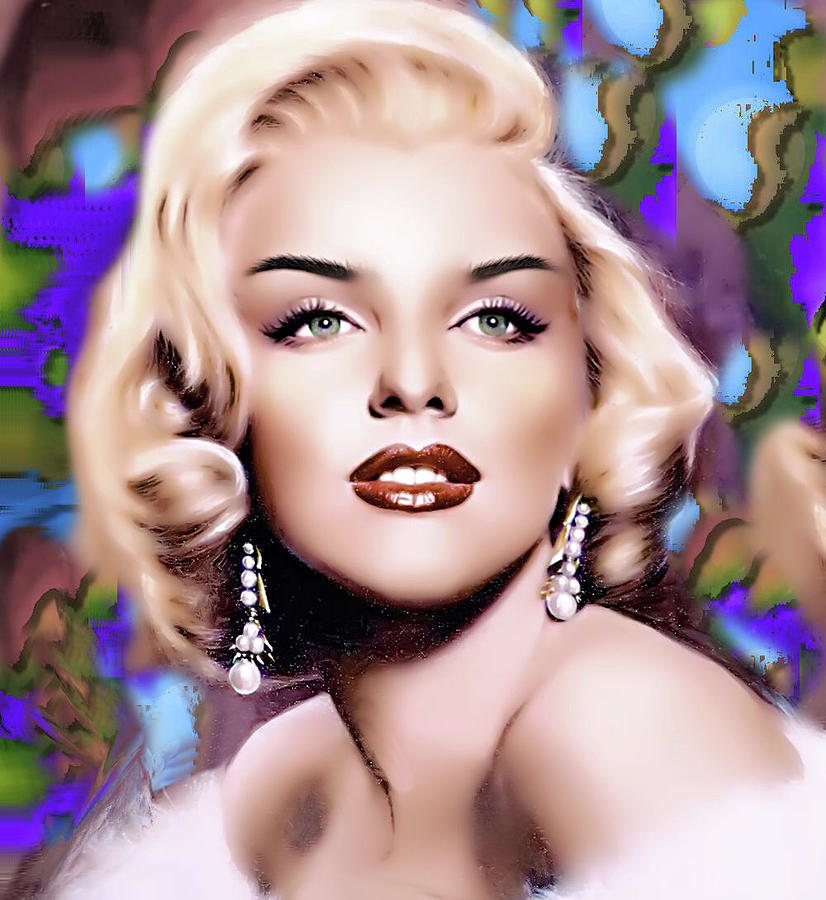 Marilyn Monroe Digital Art - Miss Monroe by Karen Showell