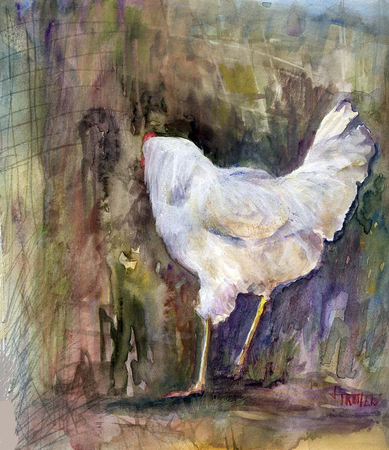 Animal Painting - Miss Priss by Jimmie Trotter