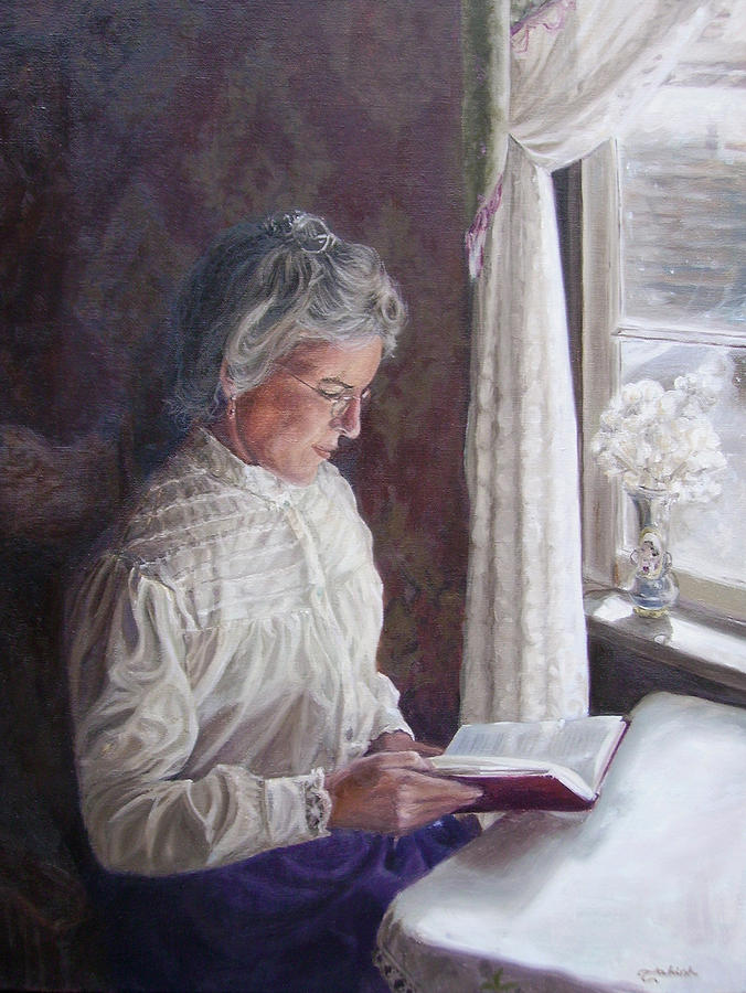 Barkerville Painting - Miss Wendle-Barkerville by Tahirih Goffic