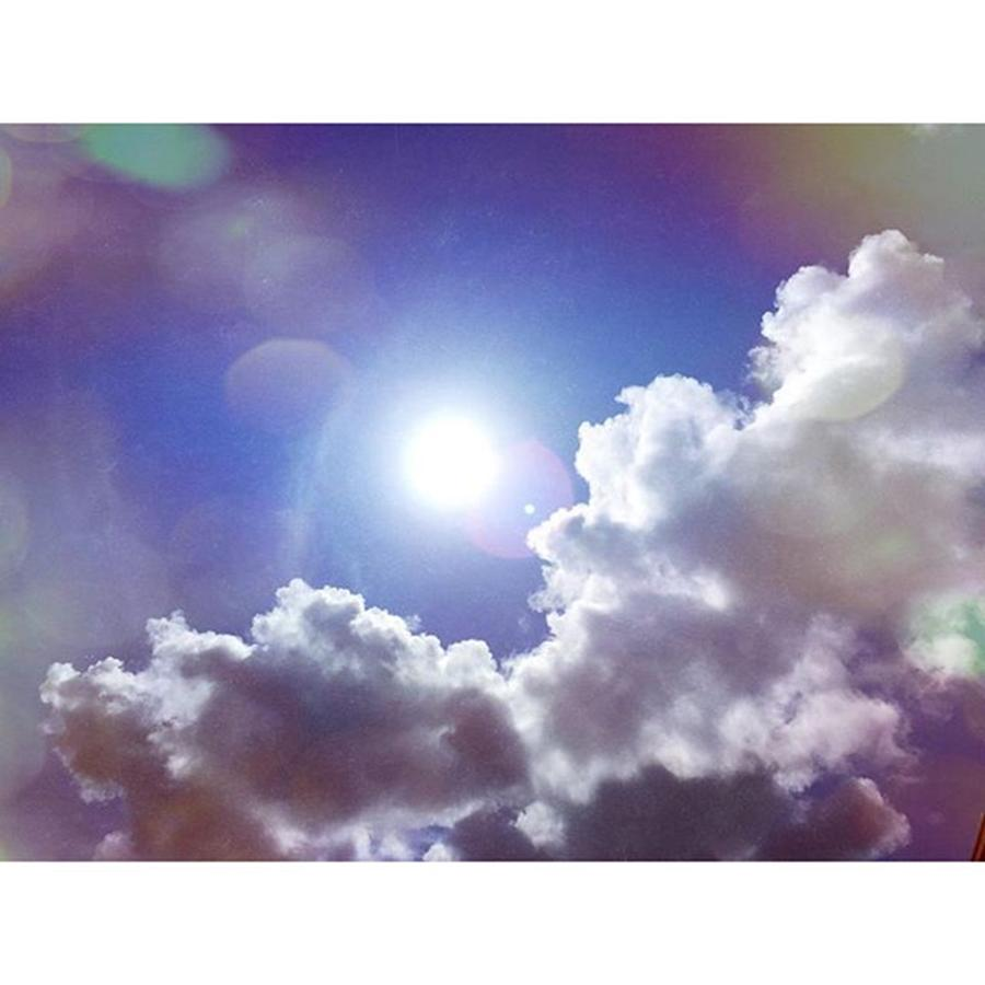 Clouds Photograph - Missing The Sunshine Today #mobilepics by Joan McCool
