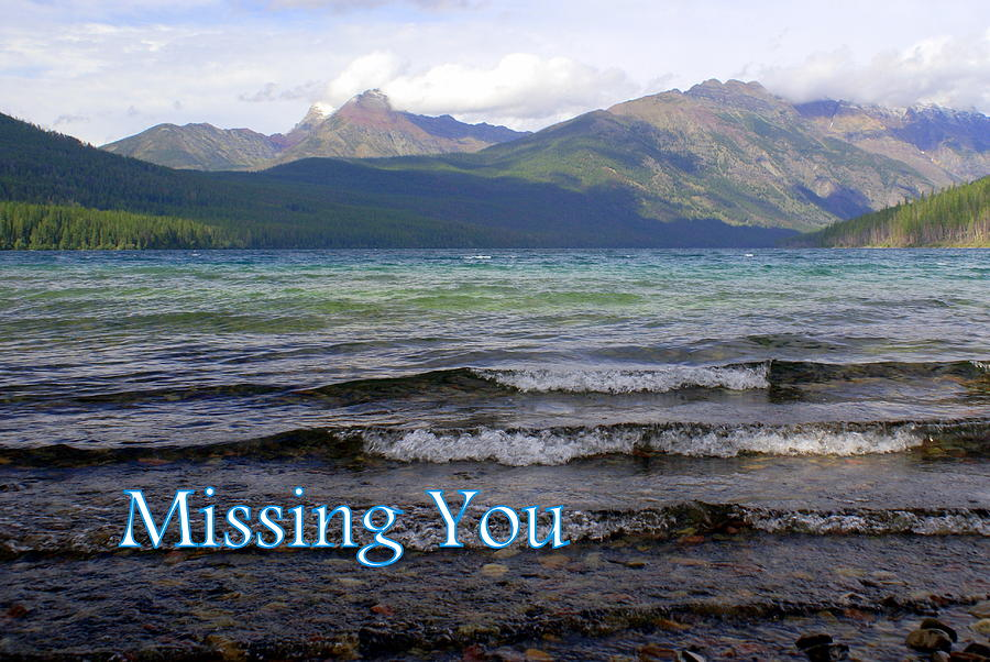 Greeting Card Greeting Card - Missing You 1 by Marty Koch