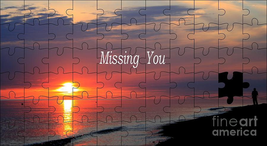 Miss Photograph - Missing You by Steve K