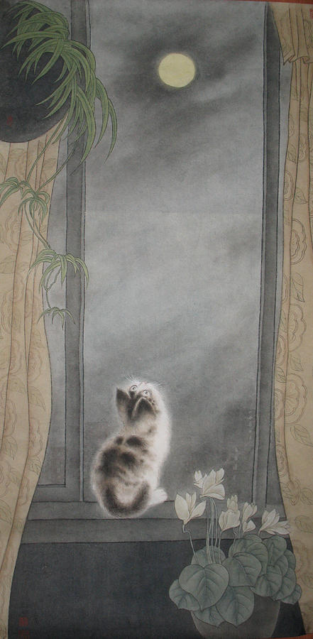 Missing Painting by Zhicheng Zang