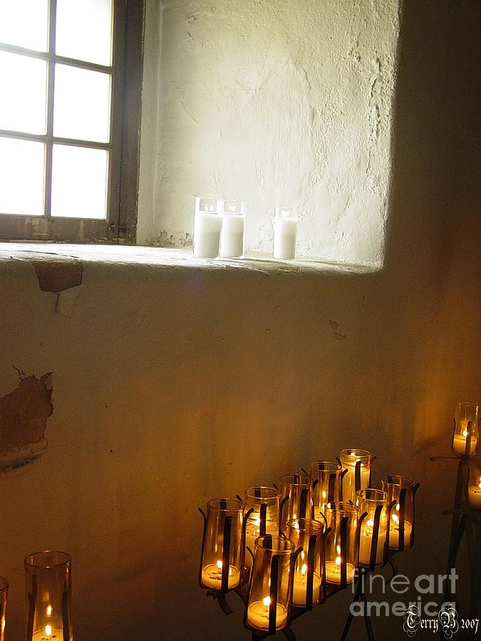 Mission Photograph - Mission At Goliad Texas by Terry Burgess
