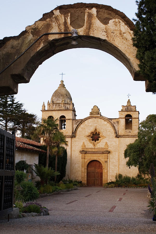 Mission Carmel and Arch by Renee Hong