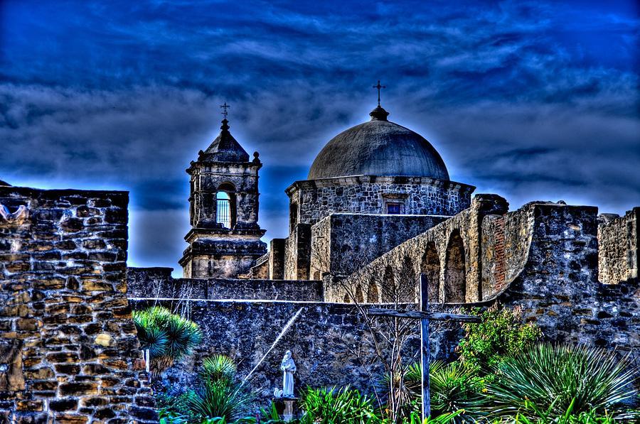San Antonio Photograph - Mission San Jose San Antonio by Rod Cuellar