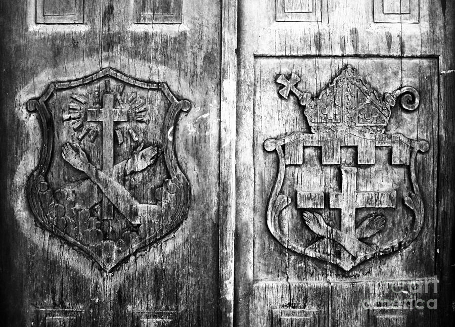 Mission Photograph - Mission Doors by David Lee Thompson