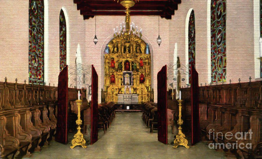 Mission Inn Riverside St Francis Chapel