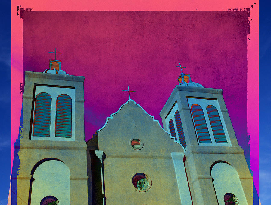 Mission Photograph - Mission New Mexico Var.2 by Susanne Van Hulst
