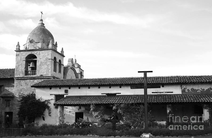 Digital Photograph - Mission San Carlos Borromeo De Carmelo No1 by Mic DBernardo