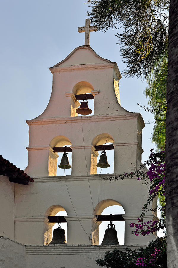 Mission San Diego De Alcala Bell Tower Photograph By