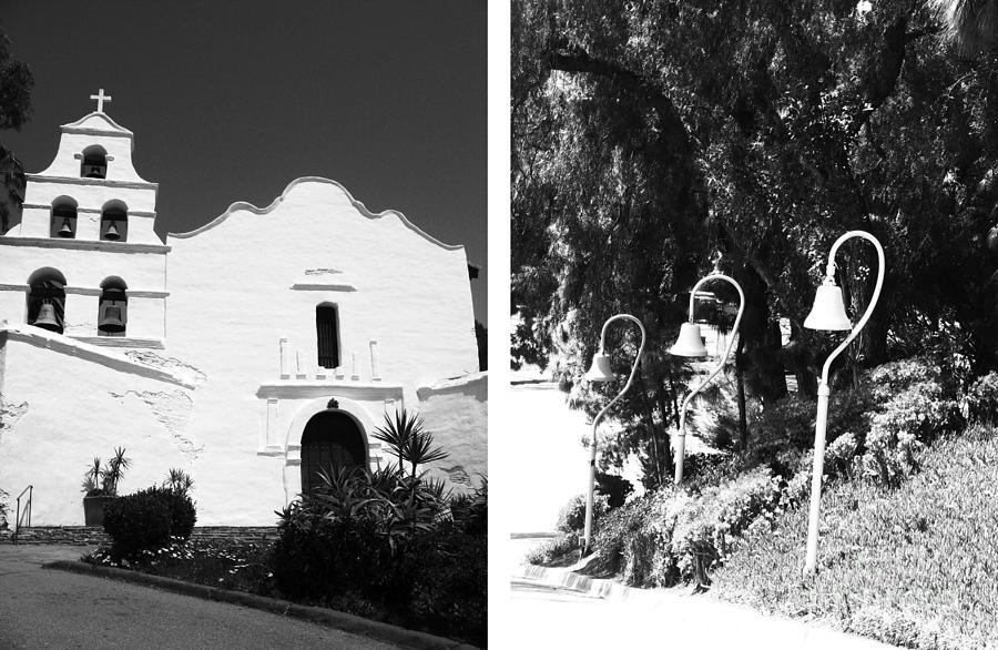 Digital Photograph - Mission San Diego De Alcala No1 by Mic DBernardo