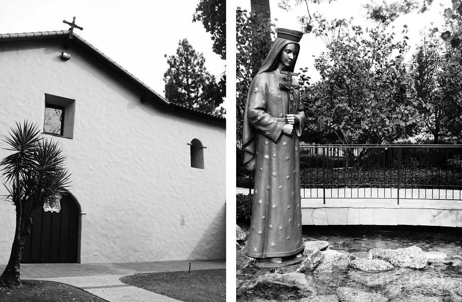 Digital Photograph - Mission San Fernando Rey De Espana No1 by Mic DBernardo