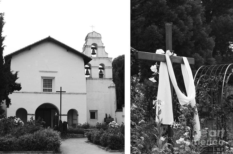 Digital Photograph - Mission San Juan Bautista No1 by Mic DBernardo