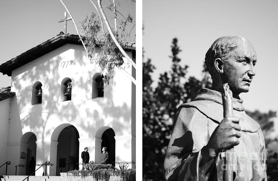 Digital Photograph - Mission San Luis Obispo No1 by Mic DBernardo