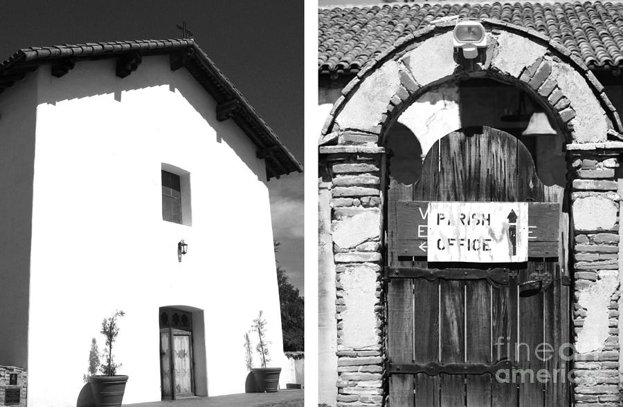 Digital Photograph - Mission San Miguel Arcangel No1 by Mic DBernardo