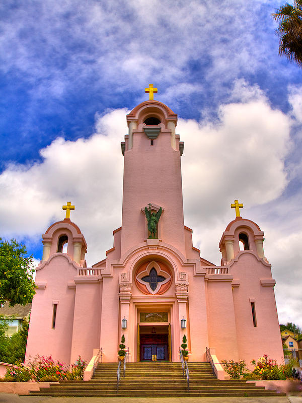 Missions Photograph - Mission San Rafael by Eric Moss