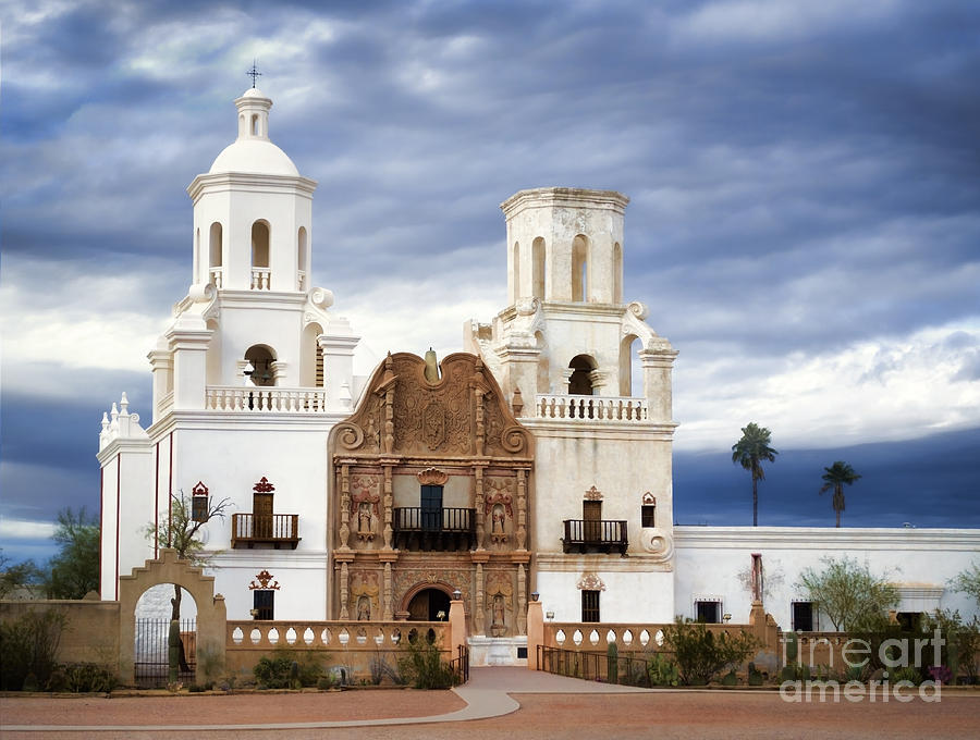 Mission San Xavier Del Bac Photograph by Donna Greene