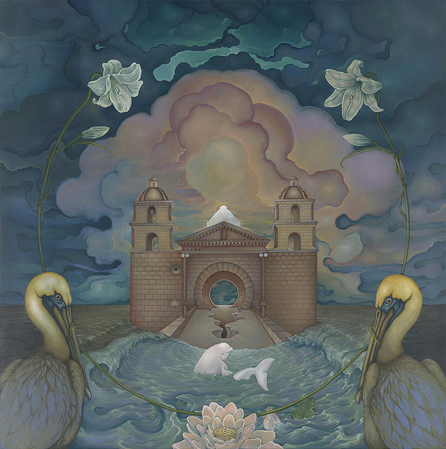 Mission Santa Barbara by Andrew Batcheller