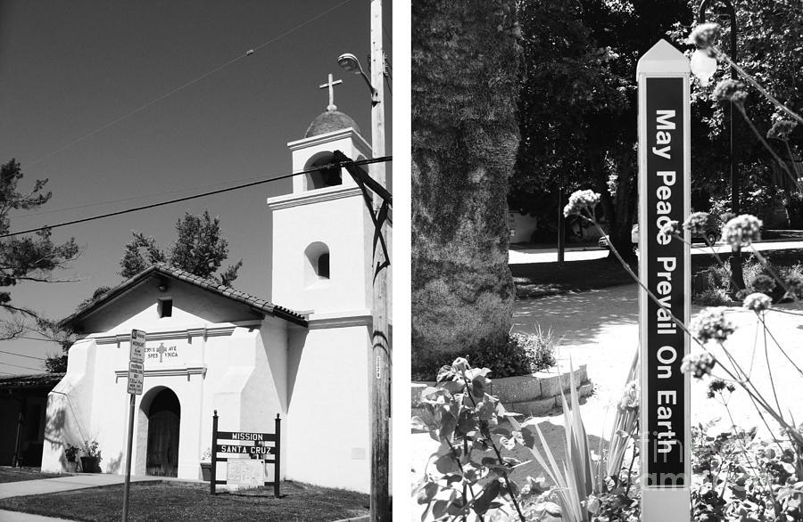 Digital Photograph - Mission Santa Cruz No1 by Mic DBernardo