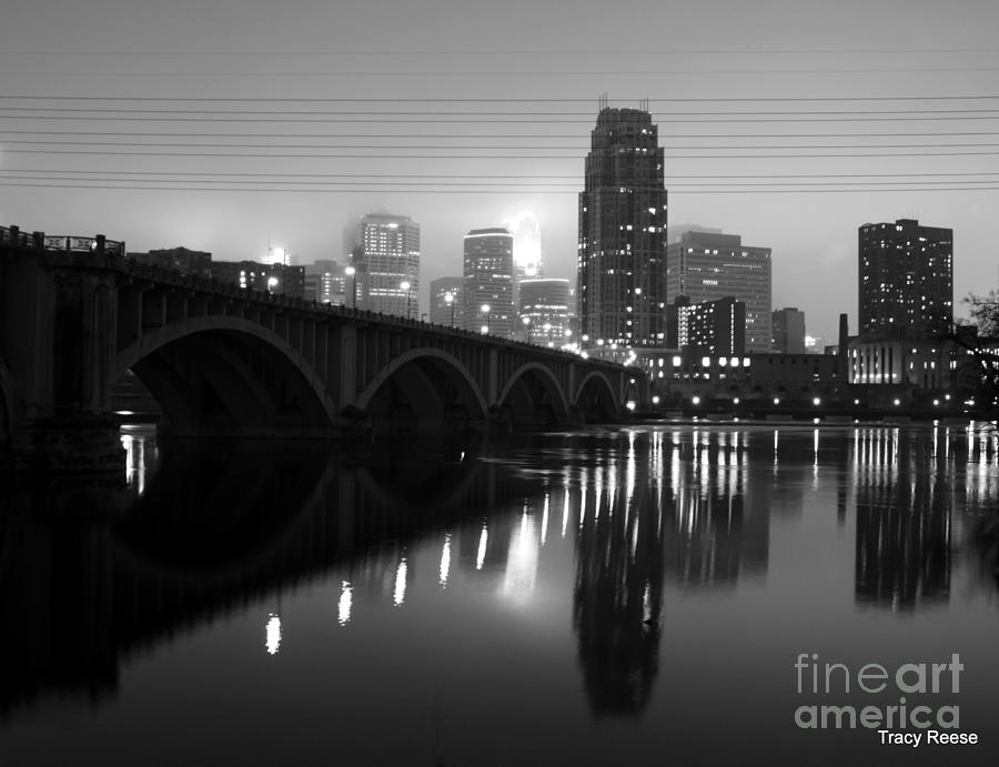 Minneapolis Photograph - Mississippi Glass by Tracy Reese
