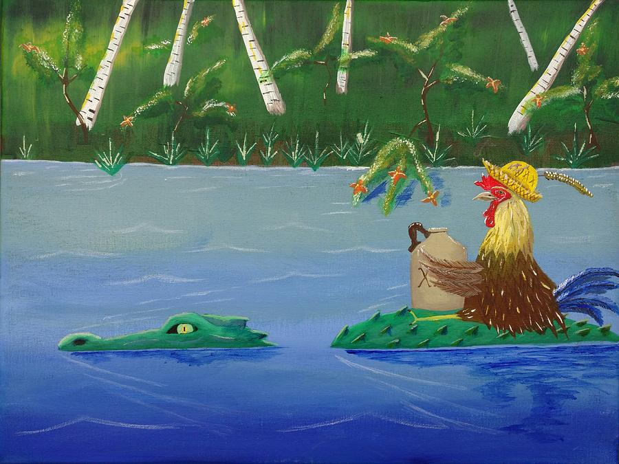 Mississippi River Drifter by Bennie Giles