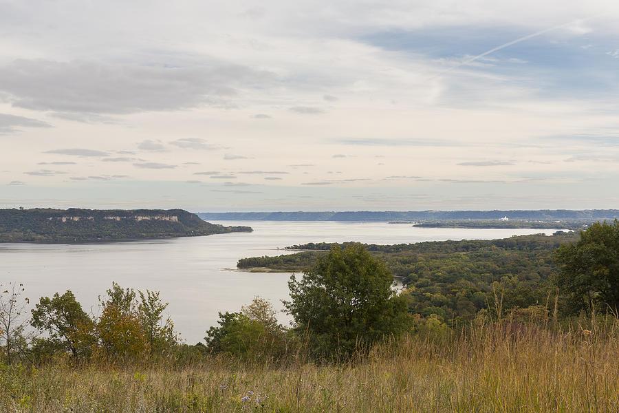 River Photograph - Mississippi River Lake Pepin 10 by John Brueske