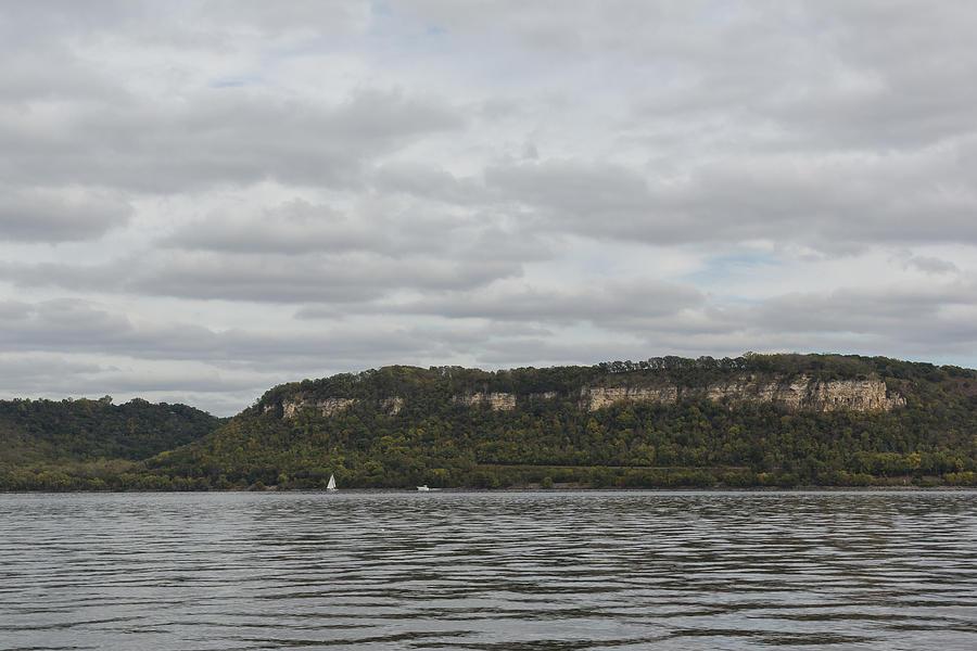 River Photograph - Mississippi River Lake Pepin 6 by John Brueske