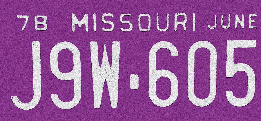 Car Parts Photograph - Missouri 78 by Bill Owen