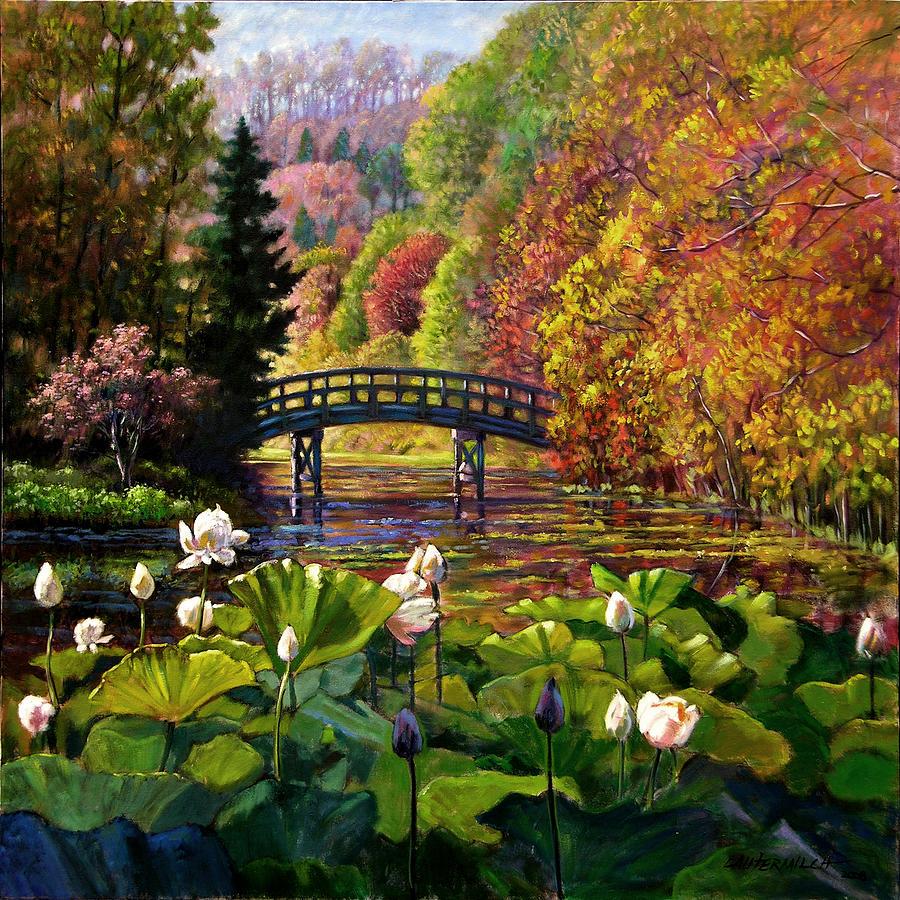 Landscape Painting - Missouri Memories by John Lautermilch