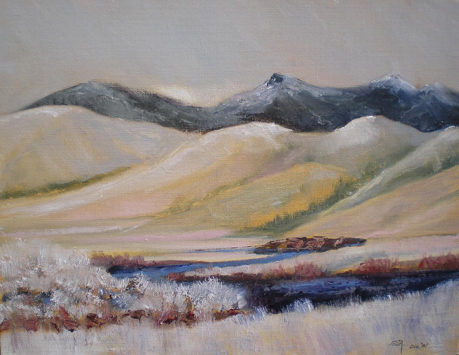 Mountains Painting - Missouri Switchback by Bryan Alexander