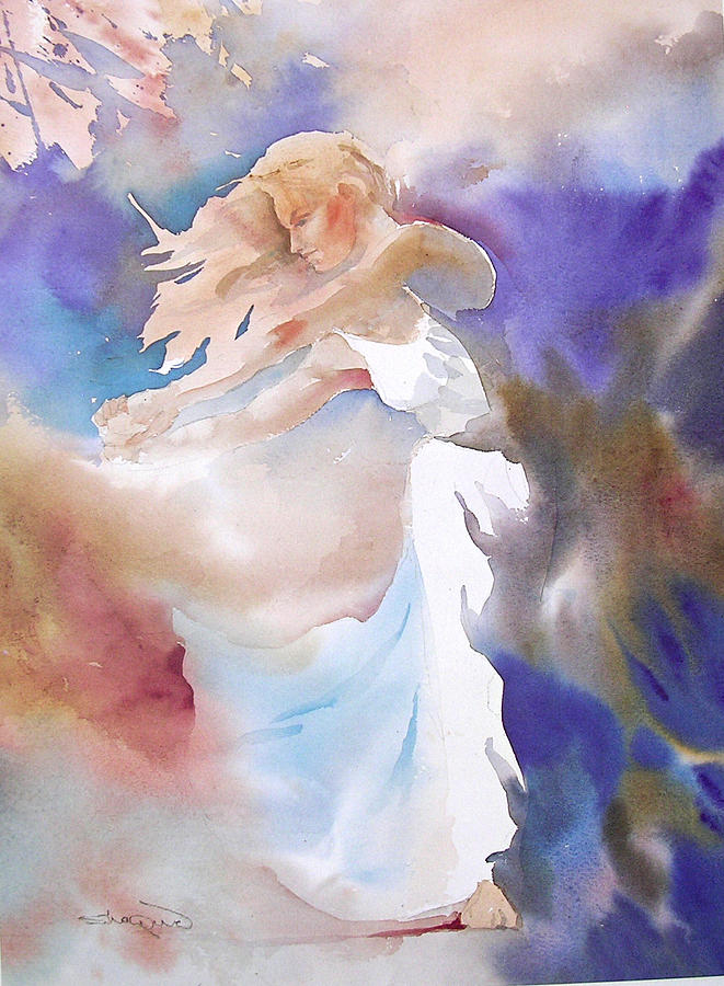 Dance Painting - Mist by H Lee Shapiro