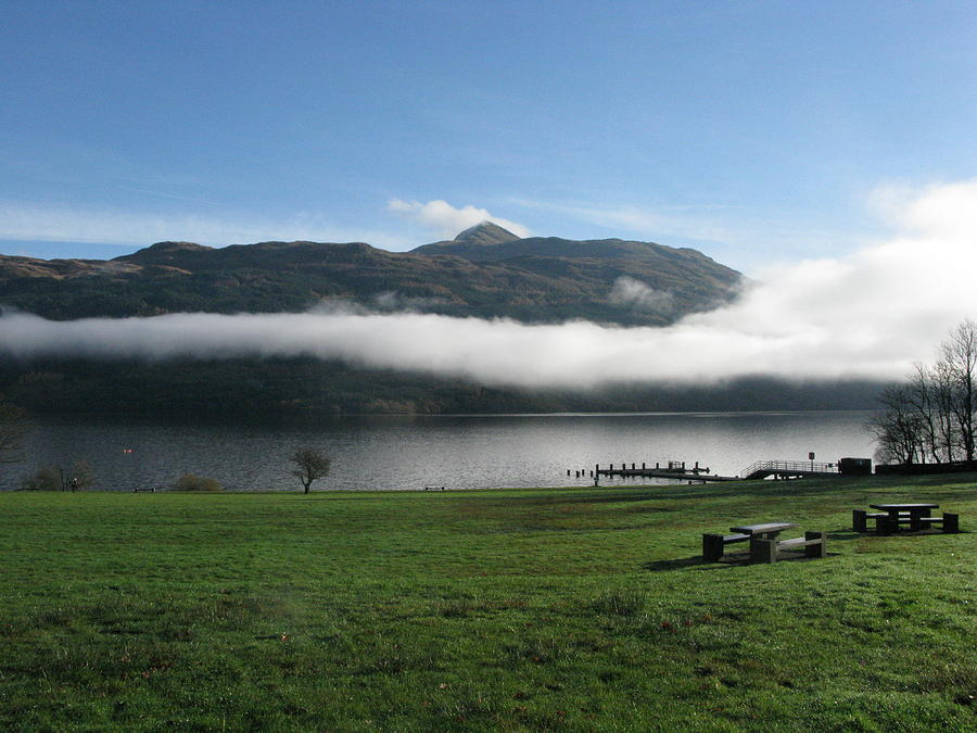 Loch Lomond Photograph - Mist by Maria Joy