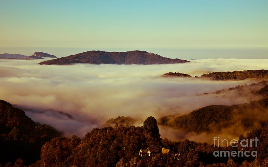 Landscape Photograph - Mist Over Apuseni by Gabriela Insuratelu