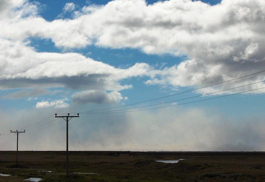 Arctic Photograph - Mist Over Vestmannaeyjar by Sidsel Genee