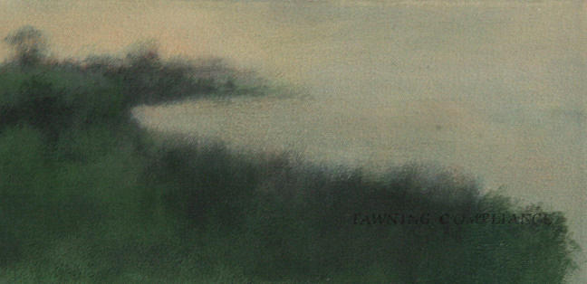 Landscape Painting - Mist by Ruth Sharton
