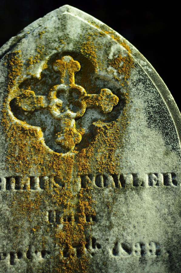 Gravestone Photograph - Mister Cyrilius Fowler by Rebecca Sherman