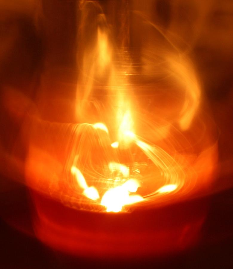 Abstract Photograph - Mistic Candle by Joshua Sunday