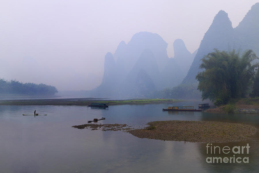 Misty Early Morning Photograph by PuiYuen Ng