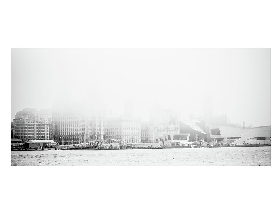 Misty Liverpool Waterfront by Spikey Mouse Photography