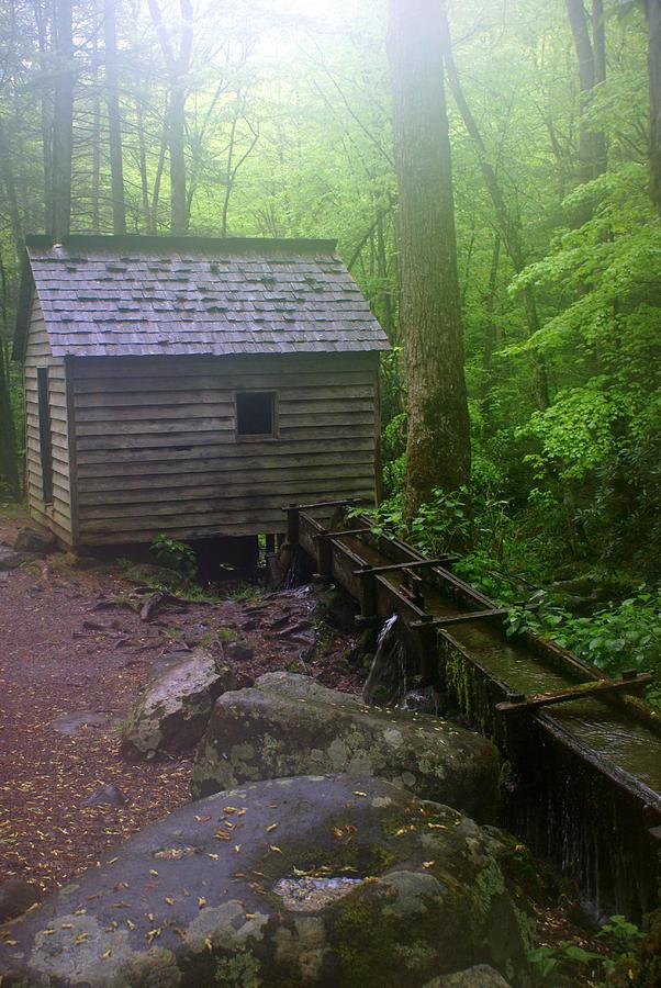 Mill Photograph - Misty Mill by Marty Koch