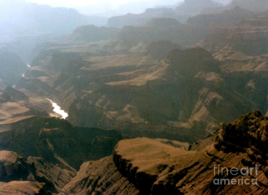 Misty Morning At The Grand Canyon  Photograph by Ruth  Housley