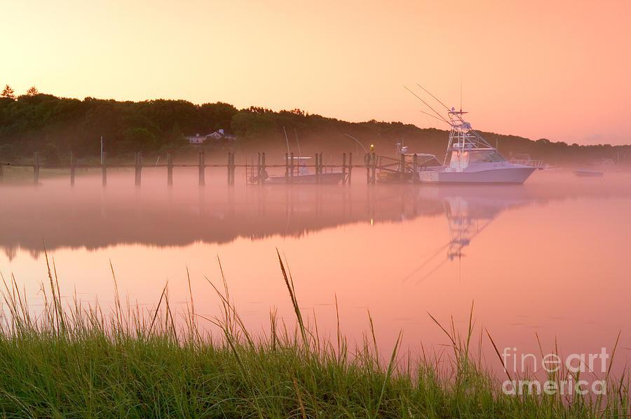 Mist Photograph - Misty Morning Osterville Cape Cod by Matt Suess