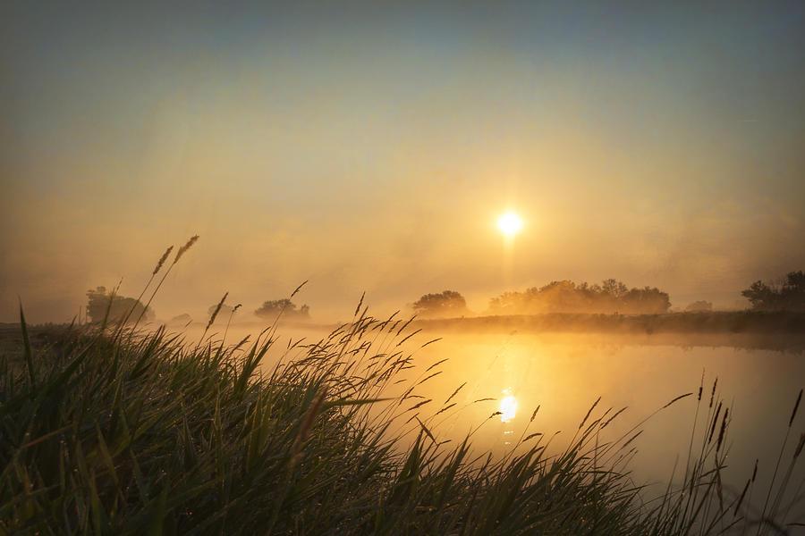 Foggy Photograph - Misty Morning by Ramona Murdock