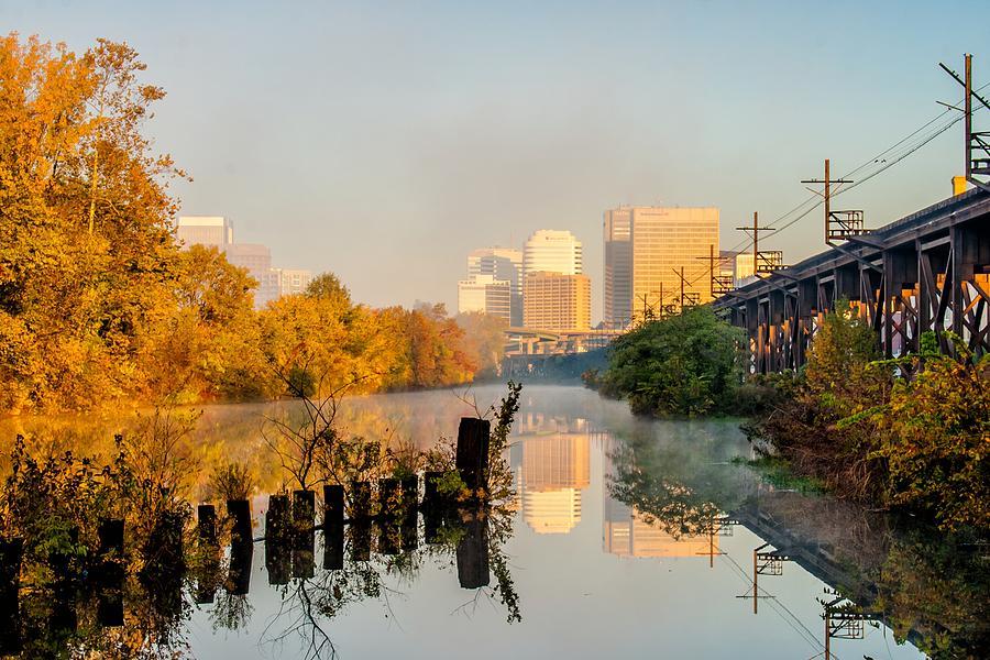 Mist Photograph - Misty Morning by Tim Wilson