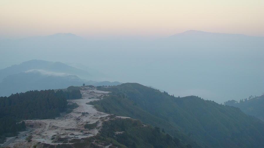 Mist Photograph - Misty Mountain Hop by Abir Bordoloi
