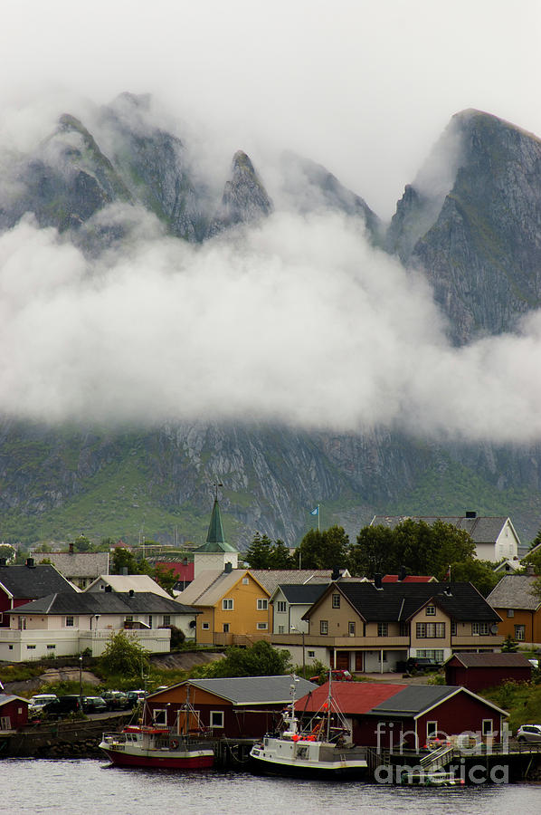 Misty Mountains Photograph