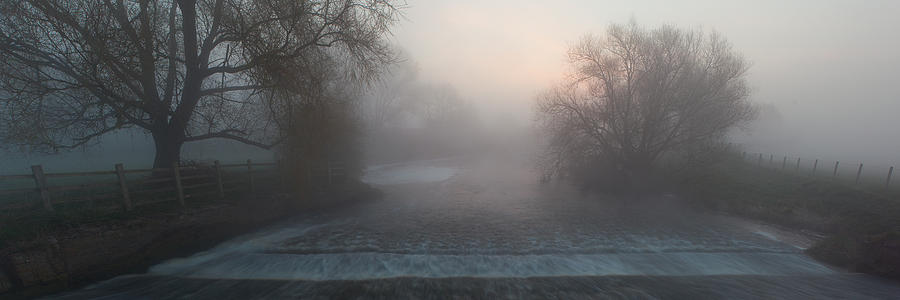 Misty River Nene by Nick Atkin