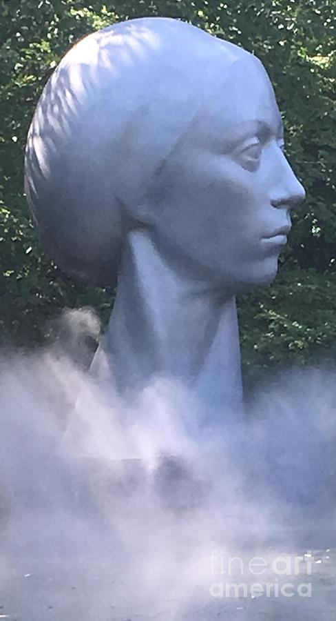 Woman Photograph - Misty Woman by John Walther