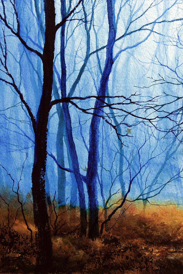 Misty Woods - 1 Painting